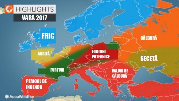 Harta Caniculei In Europa Care Sunt Riscurile Meteo Pentru Vara