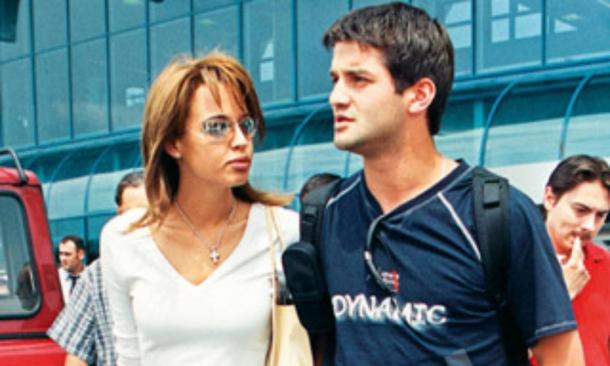 Andreea Raicu și Cristi Chivu, pe vremea când erau împreună
