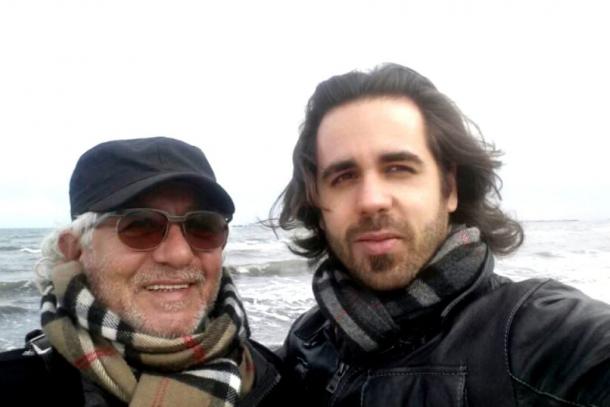 Ovidiu Lipan Țăndărică cu fiul, Alexander Lipan