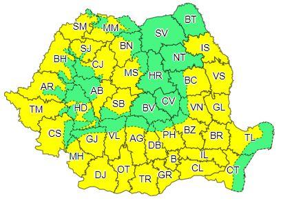 România, sub cod galben de caniculă până la finalul lunii iulie
